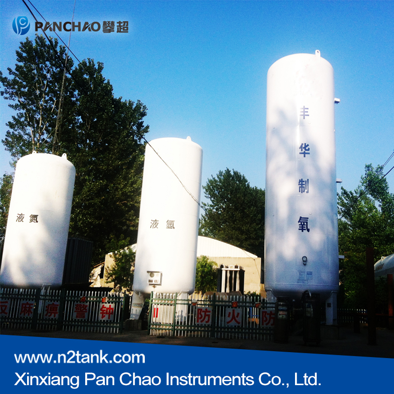 LNG Cryogenic Liquid Tank Container press