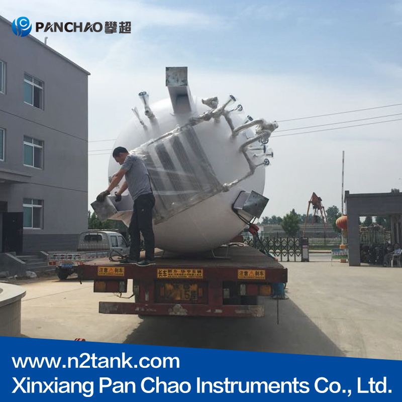 5000 litre Tank Container Type and LO2/LA
