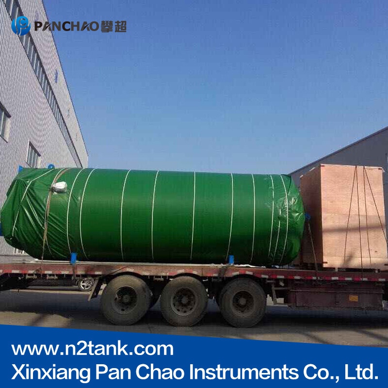 large capacity cryogenic pressure vessel