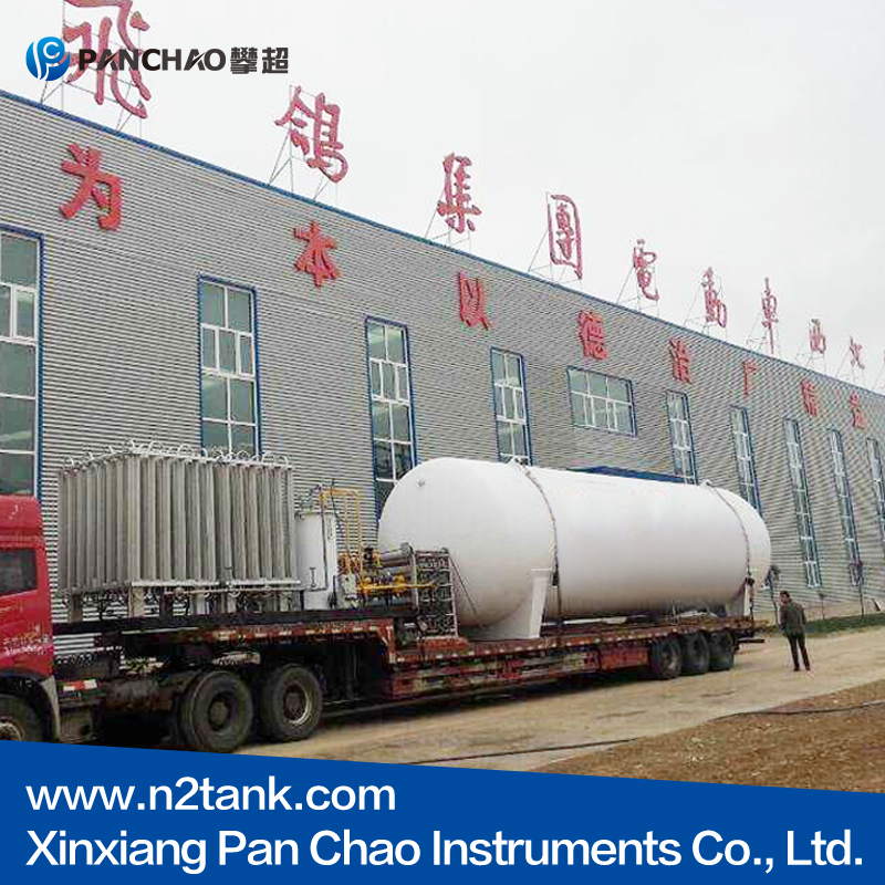 10m3 cryogenic Liquid chemical storage tank