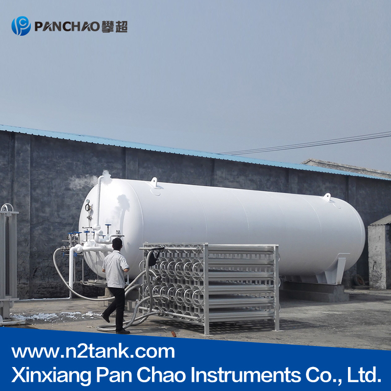 easy operation cryogenic Liquid vertical pressure vessel