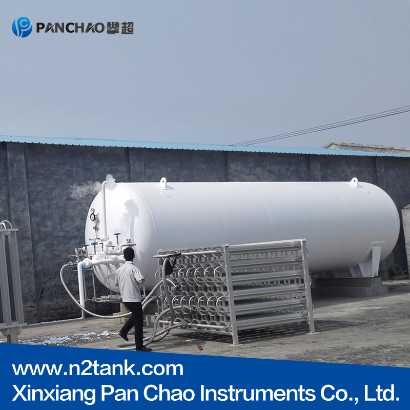 cryogenic liquid storage container support 50m3 0.8Mpa