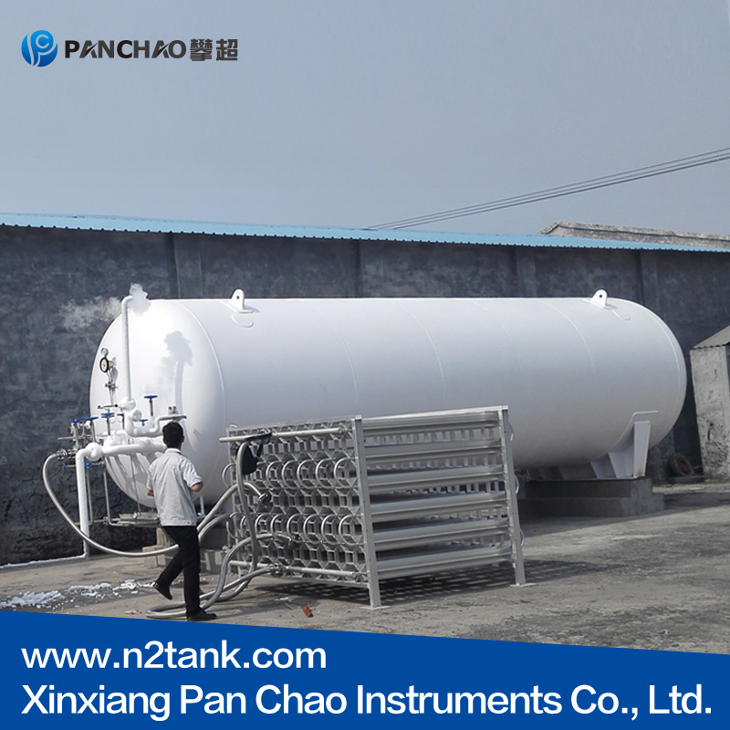 high quality cryogenic liquid storage container for LIN/LNG/LOX/LAr